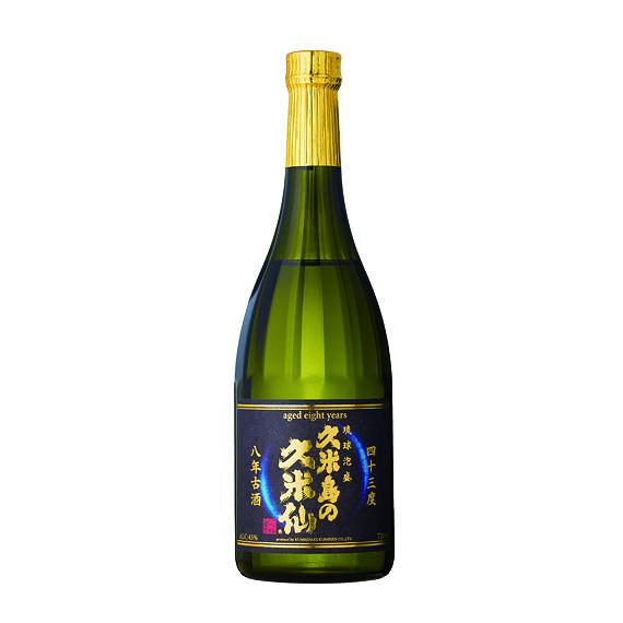 久米島の久米仙 8年古酒43度